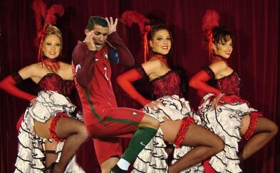 Na Ronaldovej vtipnej momentke si zgustol internet. Kde všade sa portugalský futbalista vďaka Photoshopu ocitol?