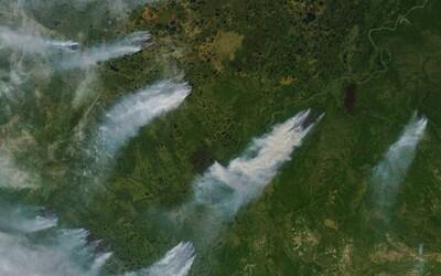 Na Sibíri znovu horí viac ako 1 milión hektárov lesa. Ruské úrady sa však plamene rozhodli nehasiť
