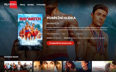 Na Slovensku je dostupná ďalšia streamovacia služba FilmBox