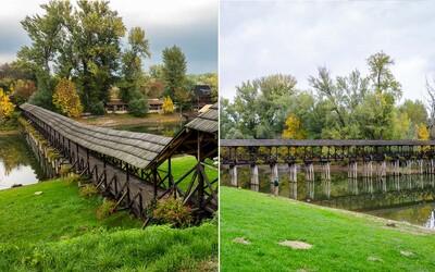 Na Slovensku máme najdlhší drevený most v Európe. Úžasnú stavbu hľadaj v meste na juhu krajiny