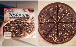 V Česku už koupíš i mraženou čokoládovou pizzu. Dal si výrobce záležet na její kvalitě? (Test)