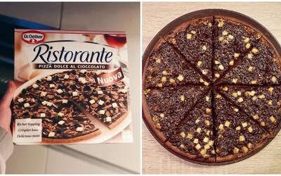 Na Slovensku už kúpiš aj mrazenú čokoládovú pizzu. Dal si výrobca záležať na jej kvalite? (Test)