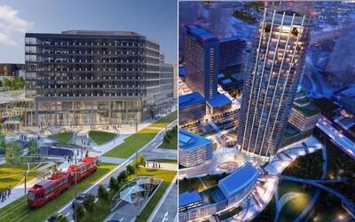 Na Slovensku vyrastie prvý mrakodrap. Spolu s rozšírením Eurovey zmení bratislavské nábrežie od základov