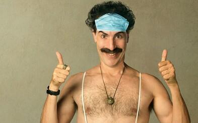 Na smrť ma chceli dobiť holohlavci so svastikami, píše Sacha Baron Cohen. Pri natáčaní Borata 2 musel mať nepriestrelnú vestu.