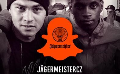 Na Snapchatu JagermeisterCZ dnes z Londýna vysílá A$AP Nast a Michal Yaksha Novotný