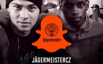 Na Snapchate JagermeisterCZ dnes z Londýna vysiela A$AP Nast a Michal Yaksha Novotný