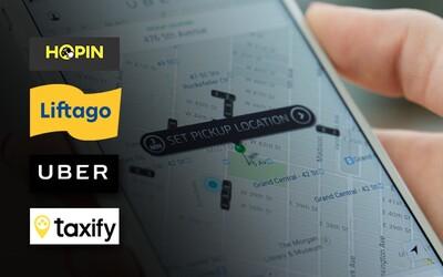 Na stejné trase jsme vyzkoušeli 4 různé taxislužby. Která aplikace se v Praze vyplatí nejvíc?