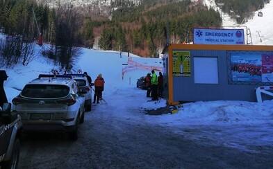 Na svahu sa zrazili lyžiari, jeden prišiel o život. Polícia naznačila, že v hre bol aj alkohol