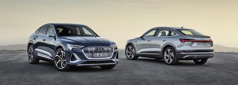 Na svete je ďalší prémiový elektromobil. Elektrický Sportback od Audi má nielen unikátne späťáky, ale aj svetlá