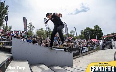 Na světovém poháru GrandPrix Beroun 2017 se představí světová špička skateboardingu a zahrají třeba Paulie Garand nebo DJ Wich
