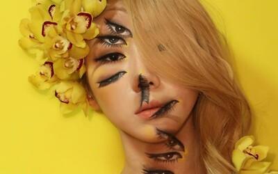 Na svojej tvári vytvára pomocou make-upu optické klamy. Mladá Kórejčanka si tak získala tisíce sledovateľov