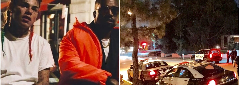 Na 6ix9inea a Kanyeho Westa stříleli během natáčení videoklipu