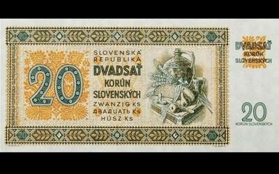 Na tieto slovenské koruny si už asi nespomenieš