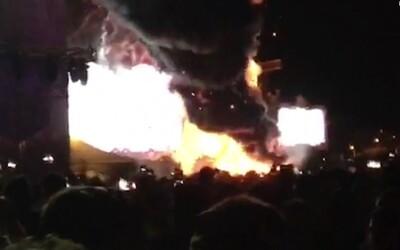 Na Tomorrowlande začal horieť stage. Evakuovať museli až 22 000 ľudí