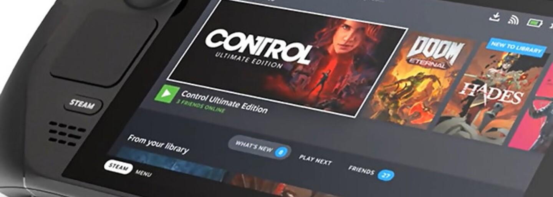 Na trh prichádza prenosná herná konzola Steam Deck. Je výkonnejšia než Nintendo Switch, ale aj drahšia