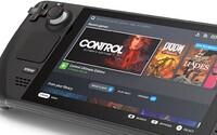 Na trh přichází přenosná herní konzole Steam Deck. Je výkonnější než Nintendo Switch, ale i dražší