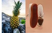 Na trh prišli topánky z ananásu. Vyrobené sú len z rastlín