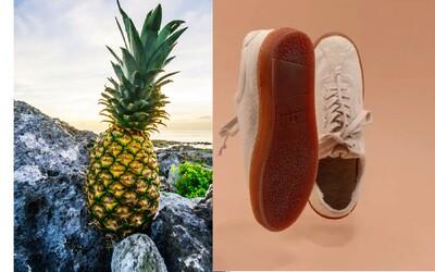 Na trh přišly boty z ananasu či banánových slupek. Vyrobené jsou jen z rostlin