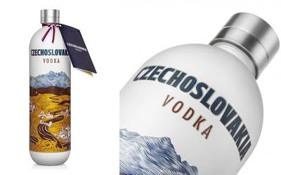 Na trh se dostává zajímavá vodka Czechoslovakia. Opětovné spojení našich zemí by mělo vybudovat silnou značku