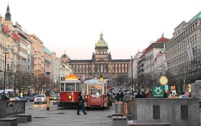 Na Václavské náměstí se nejspíš do čtyř let vrátí tramvaje. Propojí Vinohrady i Hlavní nádraží