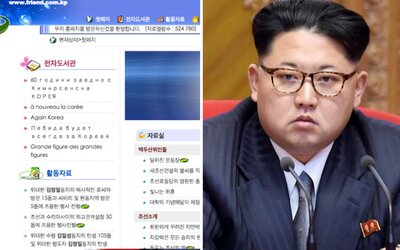 Na veřejnost unikl obsah internetu v Severní Koreji. Má jen 28 stránek, ale můžeš si najít i kamaráda
