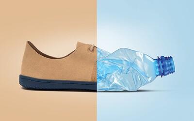 Na výrobu jedného páru topánok spotrebovali 17 plastových fliaš. Aj odpad sa dá využiť kreatívne