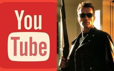 Na YouTube si môžeš zdarma pozrieť Terminátora či Rockyho. Služba je ale zatiaľ prístupná len pre Američanov