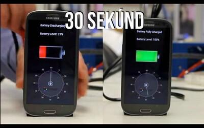 Nabít telefon za méně než minutu? Už brzy