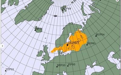 Nad severnou Európou sa vznáša tajomný oblak radiácie. Nikto sa k jeho pôvodu zatiaľ nepriznal