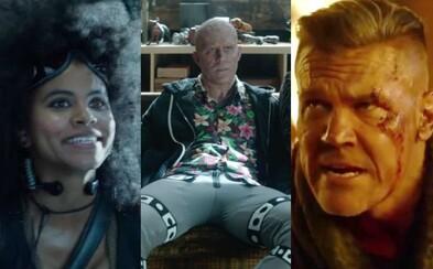 Nadávky, nepodarené zábery a množstvo zábavy. Deadpool 2 vnadí na skvelé bonusové materiály