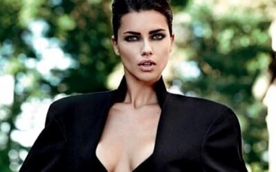 Nádherná Adriana Lima v októbrovom vydaní Vogue Brasil