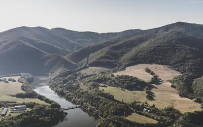 Nádherná turistika je aj v okolí Košíc. Tieto úžasné výhľady neďaleko Ružína sa určite oplatí navštíviť