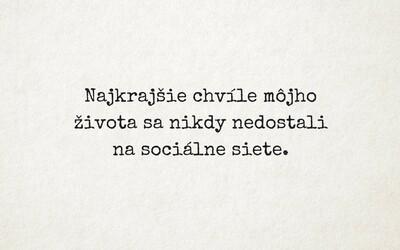 Nádherné myšlenky dvou Slováků se Facebookem šíří bleskovou rychlostí. Inspirativní obrázky ještě nikdy nebyly tak trefné