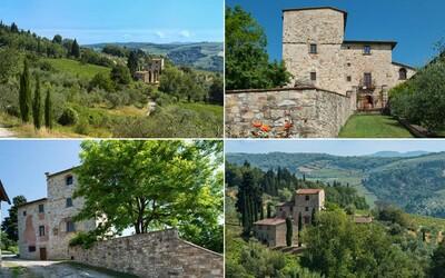 Nádherné venkovské sídlo legendárního mistra Michelangela je na prodej za více než 7 milionů eur