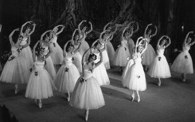Nádherné vintage zábery z baletných vystúpení