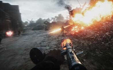 Nádherne vyzerajúci Battlefield 1 z prvej svetovej vojny sa pripomína v traileri s kolosálnou deštrukciou