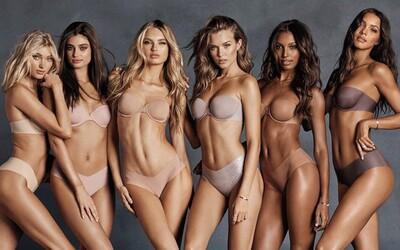 Nádherní andílci Victoria's Secret jsou opět pohromadě. Krásky propagují podprsenku bez ramínek, která za žádných okolností nespadne