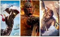 Nádherný Assassin's Creed Odyssey, velkolepé bitvy i psychologický horor. Ubisoft ukázal skvělou show