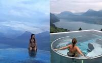 Nádherný hotel s neodolateľným bazénom je hitom Instagramu. Vďaka postom na sociálnej sieti už neinvestuje do reklamy