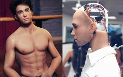 Nadlidská výdrž a ještě i smysl pro humor. Mužští sexuální roboti přicházejí na trh a výrobci slibují nezapomenutelný zážitek