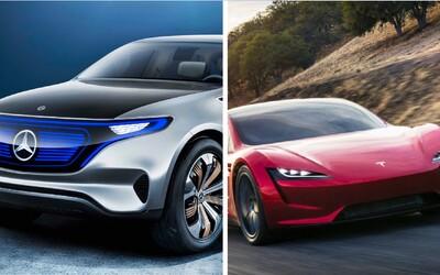 Nadupaný Roadster či rodinný e-tron:  Aké elektromobily môžeme očakávať v najbližších rokoch?