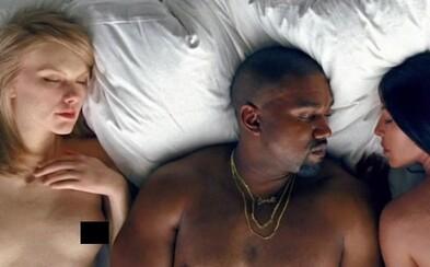 Nahá těla celebrit jako Rihanna, Taylor Swift nebo Kim Kardashian zdobí Kanyeho video k Famous