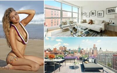 Nahlédněte do honosného bytu božské Gigi Hadid. Momentálně ho prodává za 2,5 milionu dolarů
