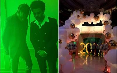 Nahlédni do sídla The Weeknda za 80 milionů dolarů. Silvestr oslavil v kruhu celebrit na soukromé party