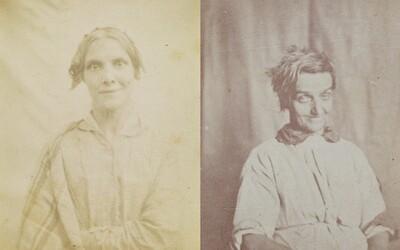 Nahlédni do tváře pacientkám ústavu pro duševně choré díky unikátním fotografiím z poloviny 19. století
