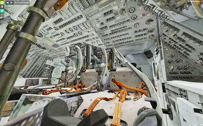 Nahliadni vo virtuálnej realite do veliteľského modulu Apollo 11, ktorý astronautov doniesol až na Mesiac. Obsahuje aj detaily, ktoré si doteraz nevidel