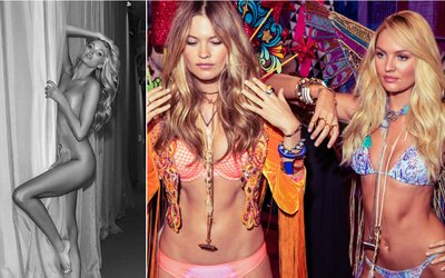 Nahliadnite do zákulisia show Victoria's Secret plného krásnych, sporo odetých žien