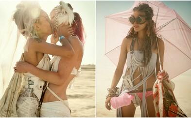 Nahota, šialenstvo a nespútaná zábava. Fascinujúce snímky z legendárneho festivalu Burning Man sú ako z iného sveta