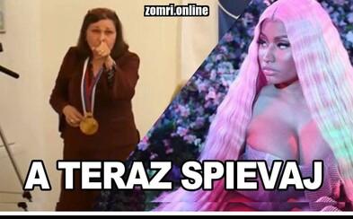 Náhradný koncert Nicki Minaj bude v Jaslovských Bohuniciach. Slováci sa zabávajú na zrušenej šou