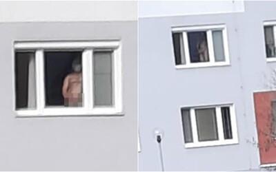 Nahý muž v Bratislave onanoval v otvorenom okne svojho bytu. Ukájal sa na okoloidúcich blízko detského ihriska